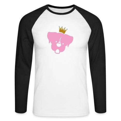 Prinz Poldi rosa - Männer Baseballshirt langarm