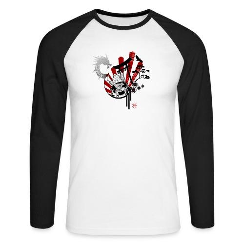 Samourai Bushido - T-shirt baseball manches longues Homme