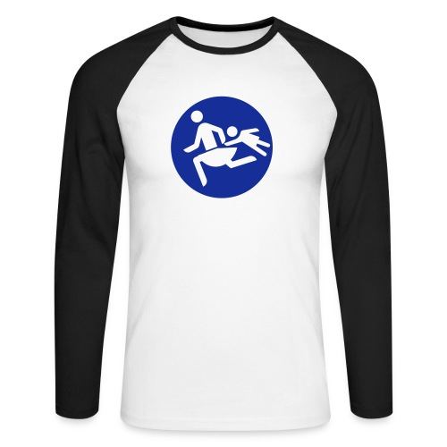 Running Mamas - Männer Baseballshirt langarm