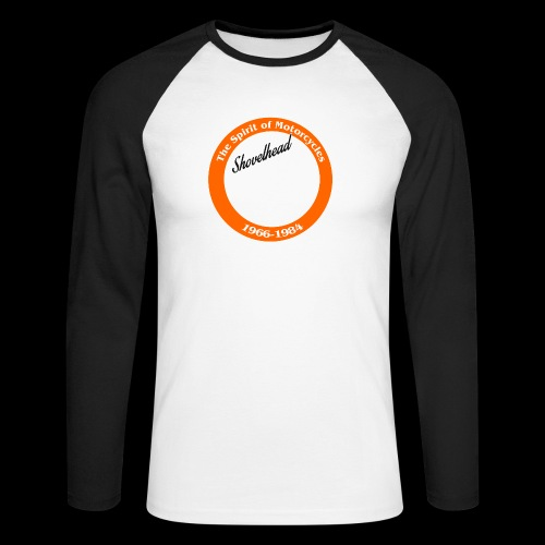 Zielflagge Shovelheat - Männer Baseballshirt langarm