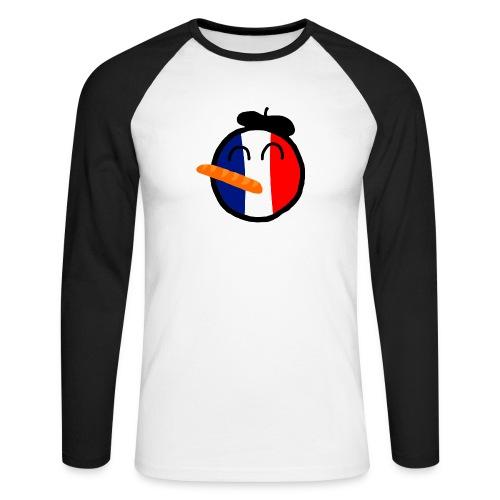 Franceball - Men's Long Sleeve Baseball T-Shirt