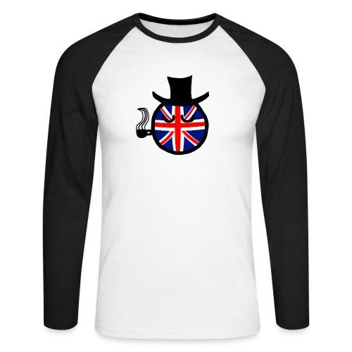 UKball - Men's Long Sleeve Baseball T-Shirt