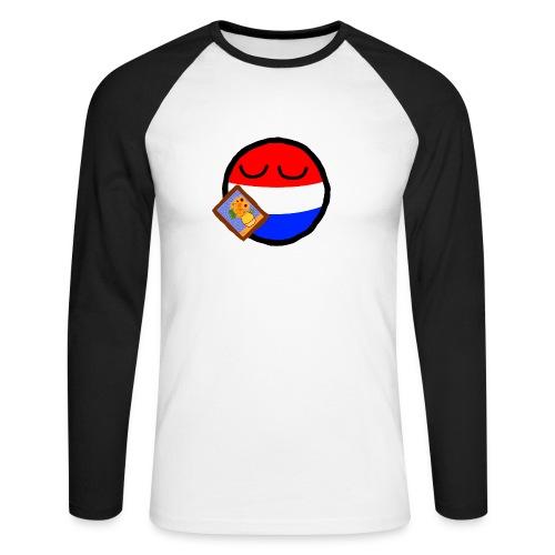 Netherlandsball - Men's Long Sleeve Baseball T-Shirt