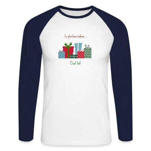 Le plus beau cadeau - T-shirt baseball manches longues Homme