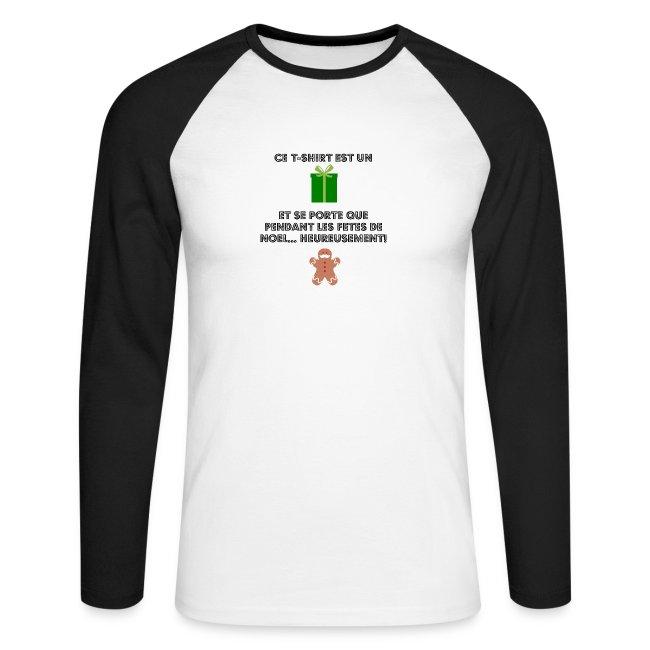T-shirt cadeau de Noël