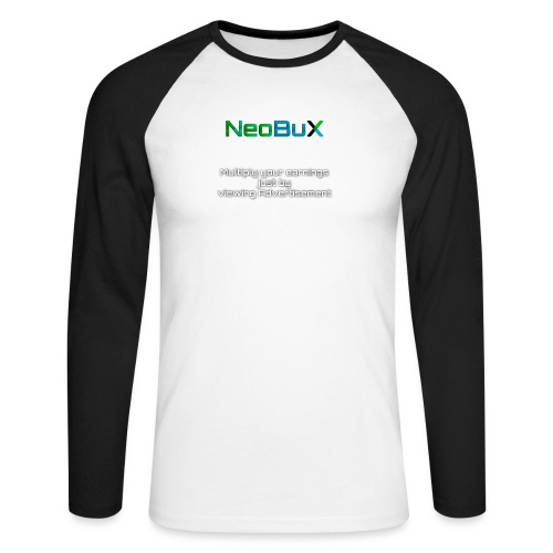 NeoBuX - Men's Long Sleeve Baseball T-Shirt
