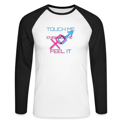 Sex and more up to - Men's Long Sleeve Baseball T-Shirt