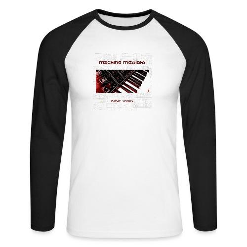 basic songs - Men's Long Sleeve Baseball T-Shirt