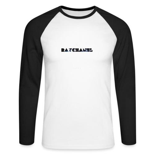 Raychanel T-Shirt - Mannen baseballshirt lange mouw