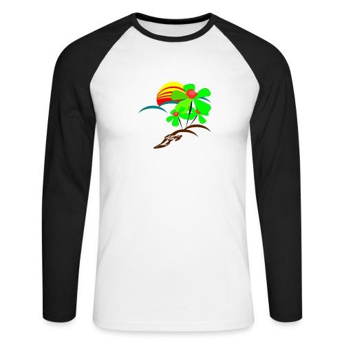 Berry - Men's Long Sleeve Baseball T-Shirt