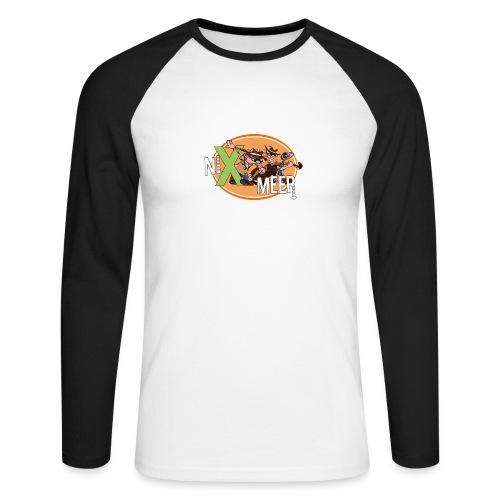 nixenmeer - Mannen baseballshirt lange mouw