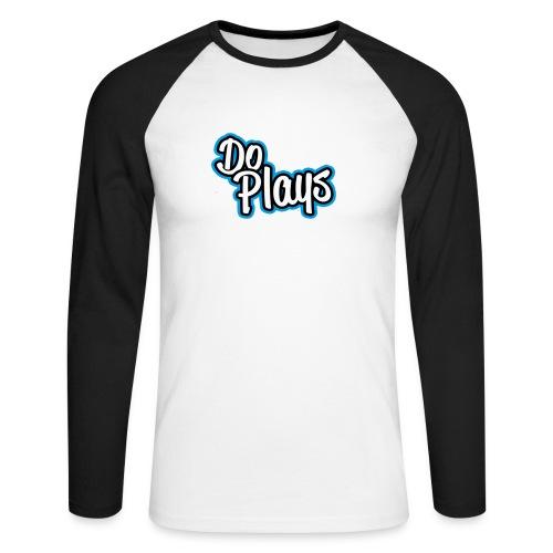 Mannen Baseball   Doplays - Mannen baseballshirt lange mouw