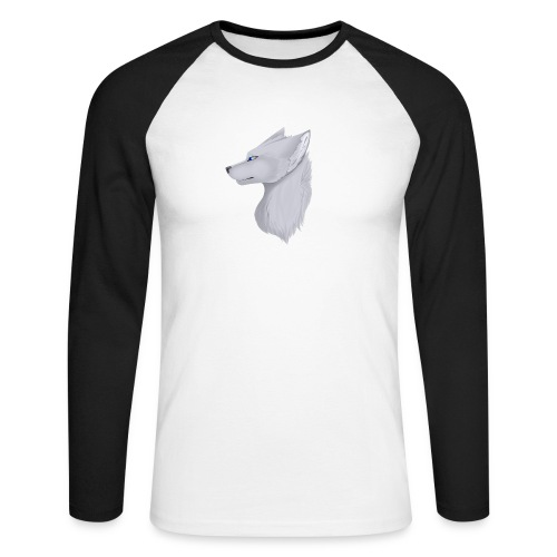 Wolf Skin - Men's Long Sleeve Baseball T-Shirt