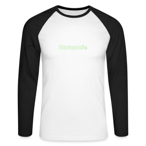 Harmonie - Männer Baseballshirt langarm
