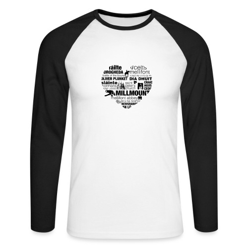 Legend_-_Drogheda2 - Men's Long Sleeve Baseball T-Shirt