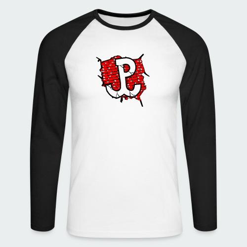 Męska Koszulka Patriotyczna Premium - Koszulka męska bejsbolowa z długim rękawem