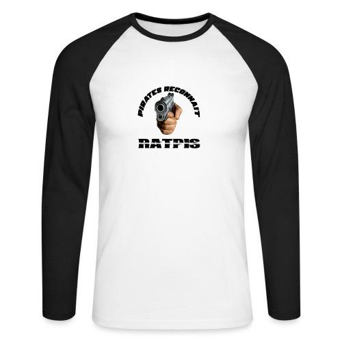 pirate reconnait Ratpis - T-shirt baseball manches longues Homme