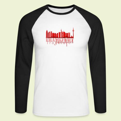 FFM - Frankfurt Skyline - Männer Baseballshirt langarm