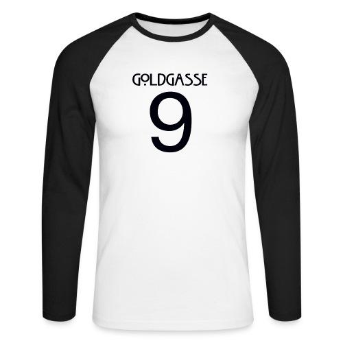 Goldgasse 9 - Back - Men's Long Sleeve Baseball T-Shirt