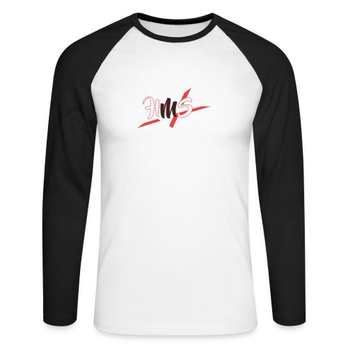 3 - Men's Long Sleeve Baseball T-Shirt
