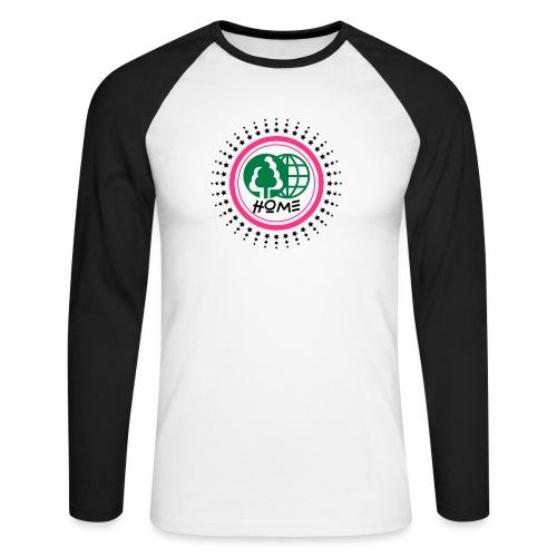 Planète home sweet home - Men's Long Sleeve Baseball T-Shirt