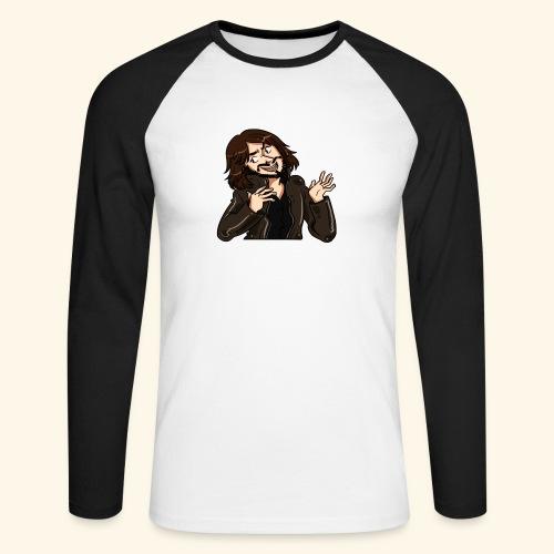 LEATHERJACKETGUY - Men's Long Sleeve Baseball T-Shirt
