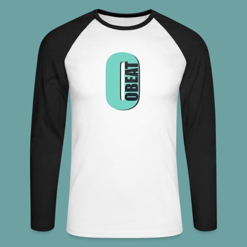 OBeat Logo O - Mannen baseballshirt lange mouw