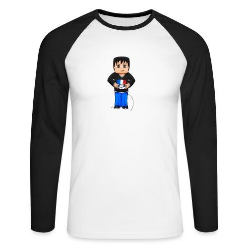 MaximeGaming - T-shirt baseball manches longues Homme