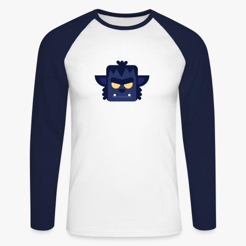 Mini Monsters - Lycan - Langærmet herre-baseballshirt
