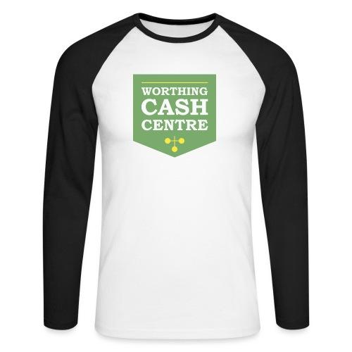 WCC - Test Image - Men's Long Sleeve Baseball T-Shirt