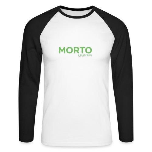 MORTO - Maglia da baseball a manica lunga da uomo