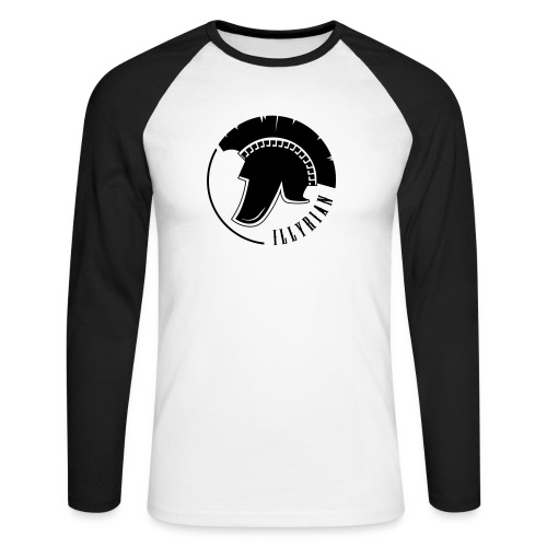 Illyrian Helmet Patrioti - Männer Baseballshirt langarm
