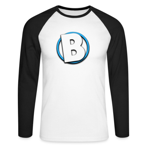 Bumble Logo - Men's Long Sleeve Baseball T-Shirt