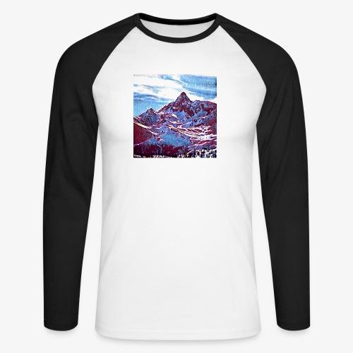 Red Mountain - Maglia da baseball a manica lunga da uomo
