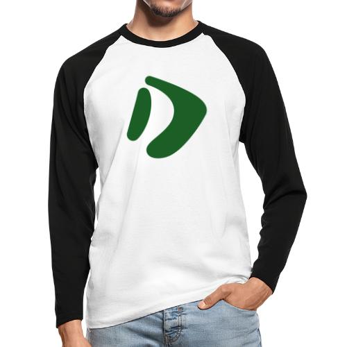 Logo D Green DomesSport - Männer Baseballshirt langarm