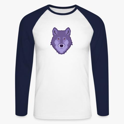 Spirit Wolf - Langærmet herre-baseballshirt
