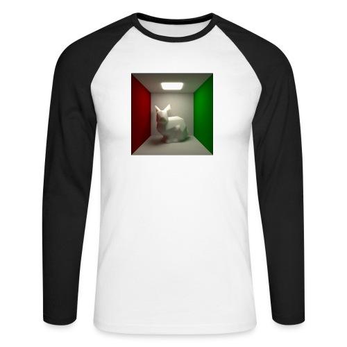 Bunny in a Box - Men's Long Sleeve Baseball T-Shirt
