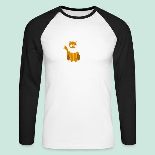 Kitty cat - Men's Long Sleeve Baseball T-Shirt