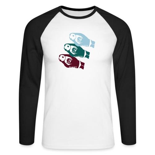 3 UWR-Spieler - Männer Baseballshirt langarm