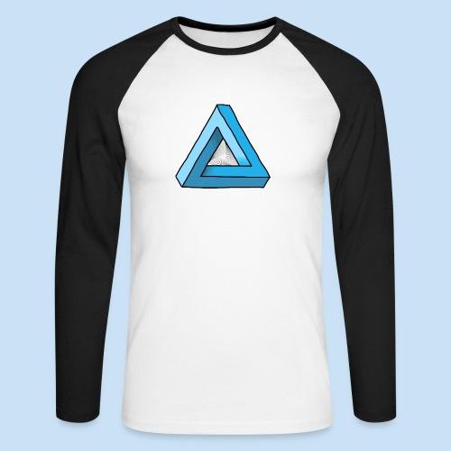 Triangular - Männer Baseballshirt langarm