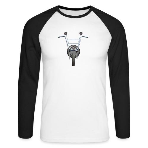 steampunkbike - Mannen baseballshirt lange mouw