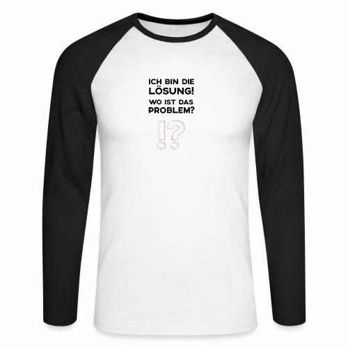 Superheld - Männer Baseballshirt langarm