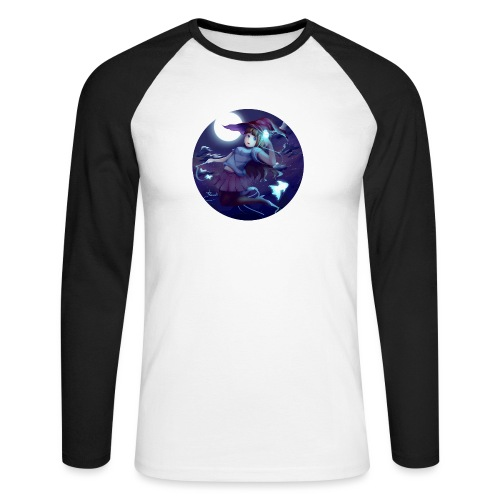 Witch in the Night - Maglia da baseball a manica lunga da uomo