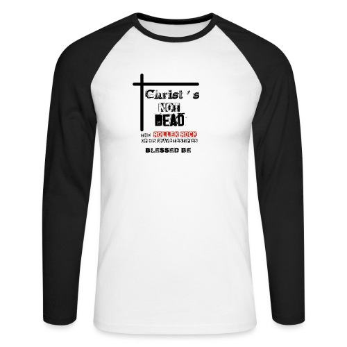 Christ's Not Dead - T-shirt baseball manches longues Homme