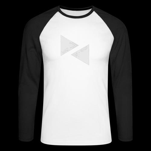 Waz_BEAST - Men's Long Sleeve Baseball T-Shirt