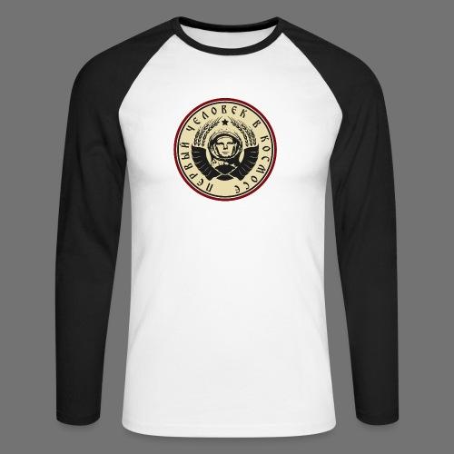 Cosmonaut 4c - Men's Long Sleeve Baseball T-Shirt