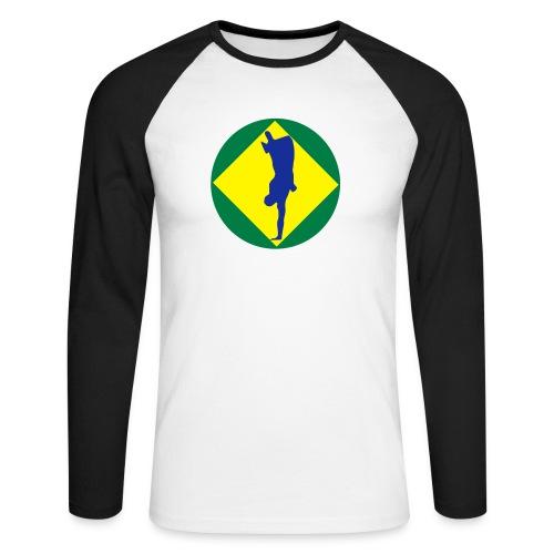 flag - Men's Long Sleeve Baseball T-Shirt