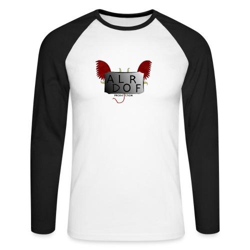 Adlorf - Koszulka męska bejsbolowa z długim rękawem