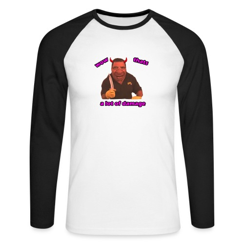 Phil Swift Damage - Men's Long Sleeve Baseball T-Shirt