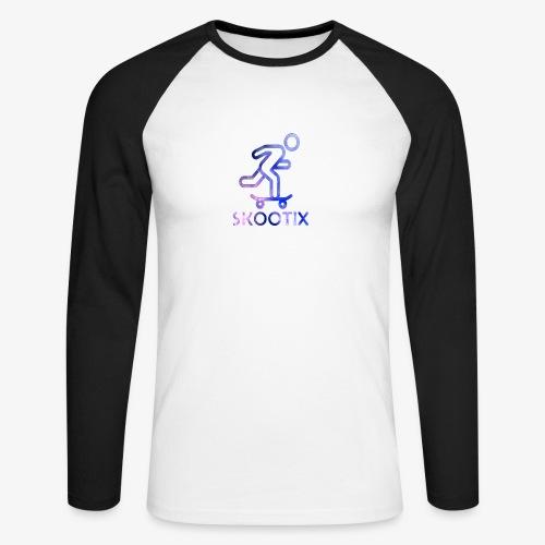 galaxy skootix - T-shirt baseball manches longues Homme